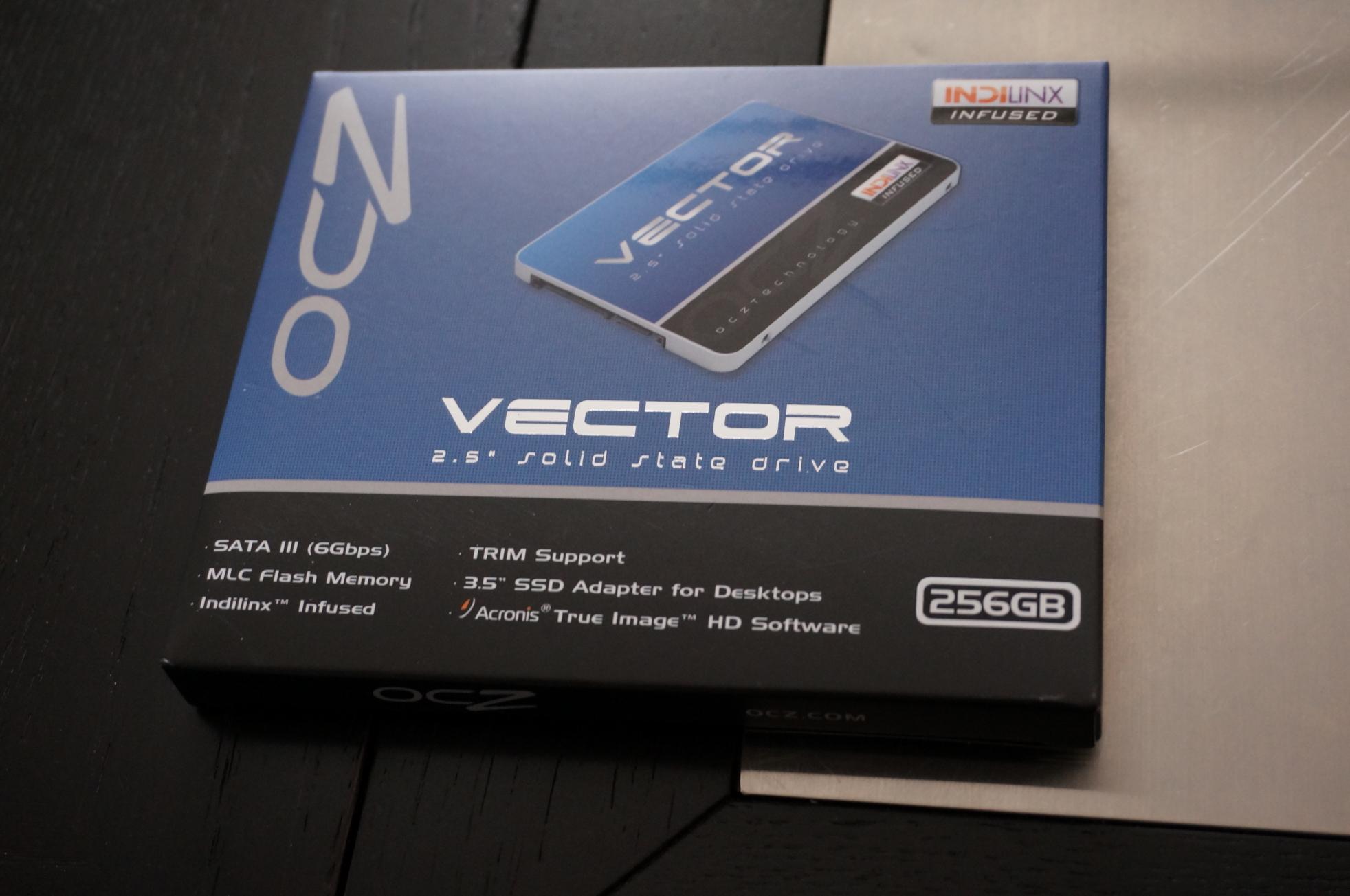 【SSD】OCZ Vector 256GB をしばく